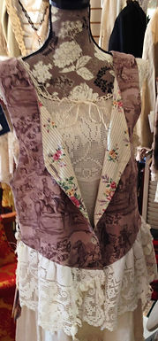 Gypsy Taupe Toile  Vest