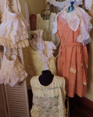 Vintage, Antique Lace Dresses