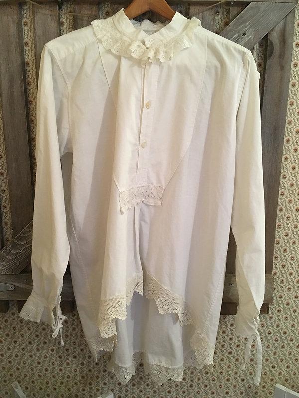 edwardian shirt night gown