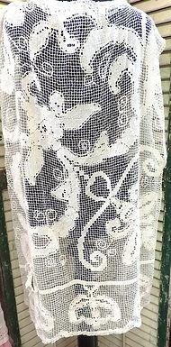 Net Antique Lace Top Tunic