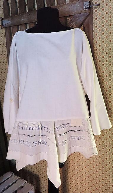 moon irish linen tunic