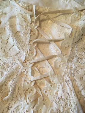 gypsy boho wedding gown