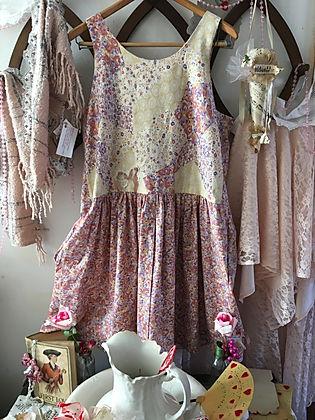 lilly flower dress tunic