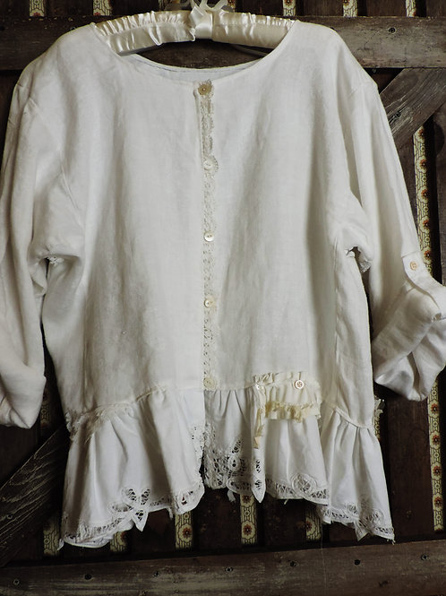 Moon Linen Tunic Top