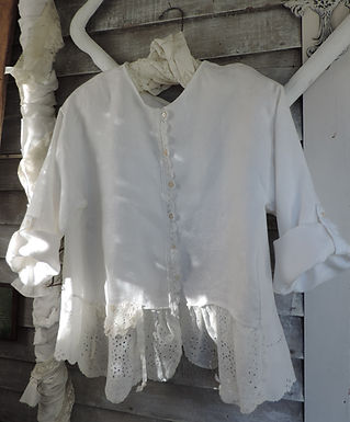 Gypsy Irish Linen jacket