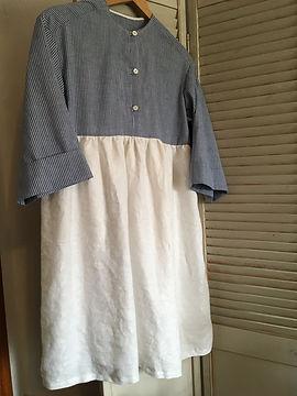 Abby's Irish Linen Dress