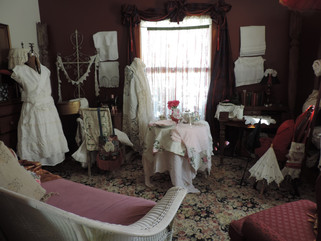 Gypsy, Bohemian Spring! Help! Bohemia Buried in Antique Linen and Lace!
