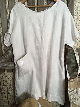 Castle linen dress