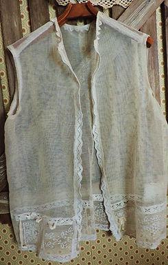 Antique Net Lace Jacket