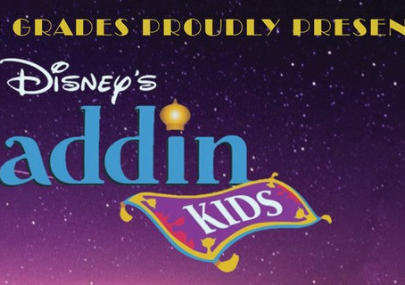 Aladdin Tickets on Sale for March 18, 19 and 20!
