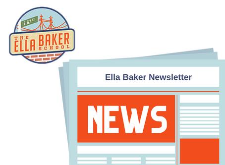 October 25, 2020 Ella Baker School Newsletter