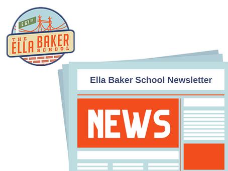 October 18, 2020 Ella Baker School Newsletter
