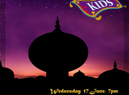 Aladdin Watch Party - June 17, 7 pm