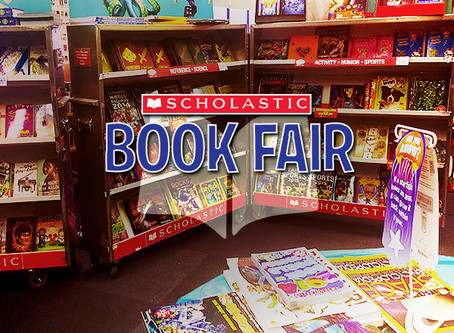 Scholastic Book Fair September 23 - 27, 2019