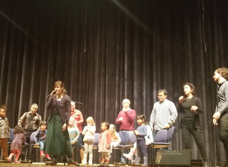 Music Beyond Borders Share at Town Meeting. Nov. 16