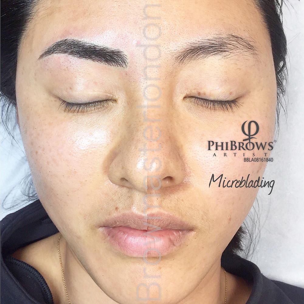 microblading london makeup eyebrows