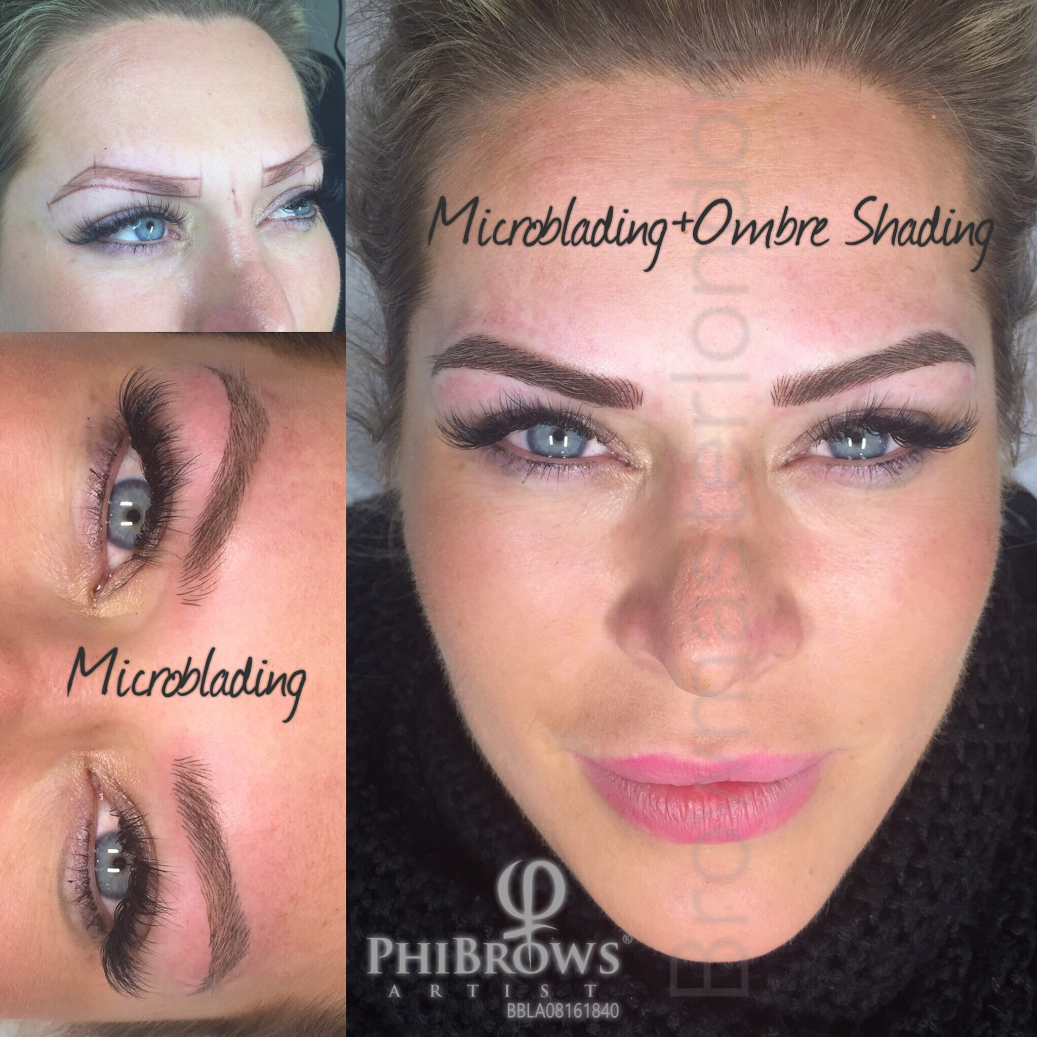 Combination Brows (Micro + OmbreShading)
