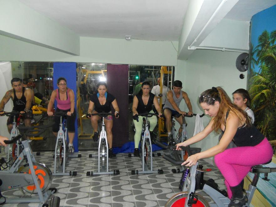 Aulas de spinning central fitness