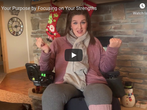 Find Your Purpose by Focusing on Your Strengths