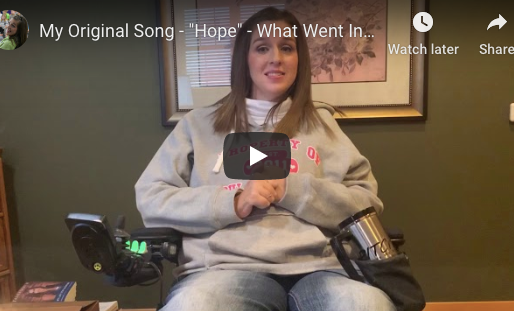 """My Original Song - """"Hope"""" - What Went Into It?"""