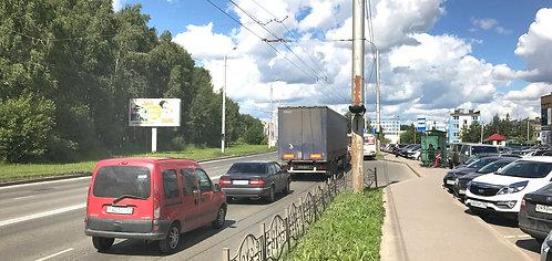 19Б. Иваново,  шоссе, напротив д. 1, сторона Б