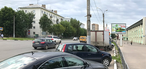 24А. Иваново, пр-т Ленина, у д. 114, сторона А