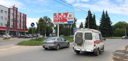 27Б. Иваново, ул.Спартака, у д. 7, сторона Б