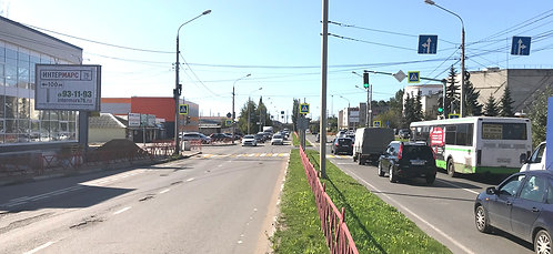 6Б. г. Ярославль, ул. Лисицина/Мышкинский пр-д, сторона Б