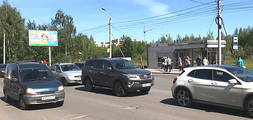 7А. г. Ярославль, пр-т Машиностроителей, напротив д.48а, сторона А