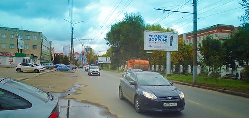 12А. Иваново, ул. Парижской Коммуны, у д. 5, сторона А