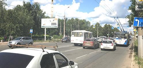 20Б. Иваново, ул. Куконковых, у д. 126, сторона Б