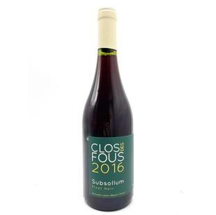 Clos de Fous: Pinot Noir