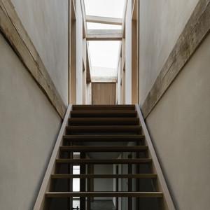 Lime plaster interior