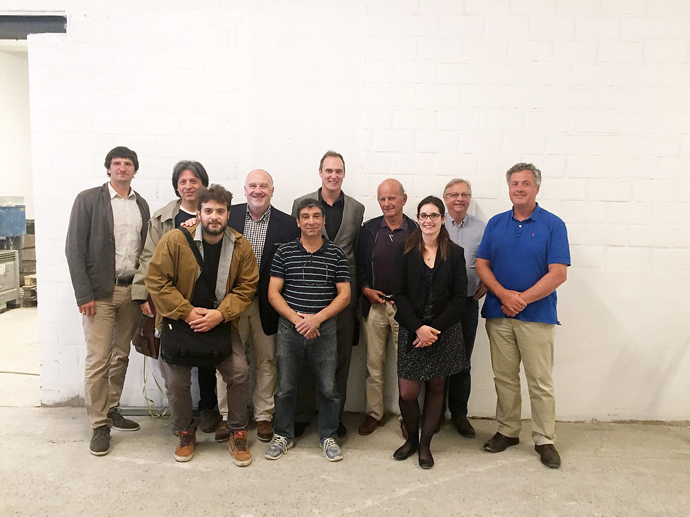 A happy Hemp Eco Systems international team