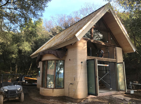 Inside the Hemp Mini House - Update