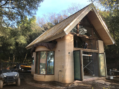 Inside the Hemp Mini House - Update