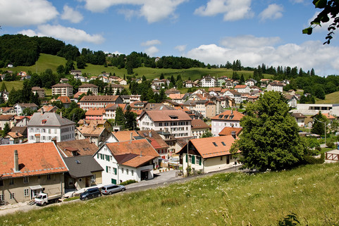 view over saint croix village