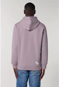 Hoodie lilac logo
