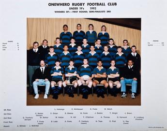 1992 ORFC U19