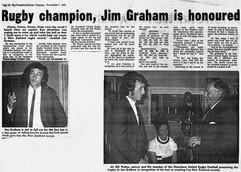 Jimmy G is honoured 1972.jpeg