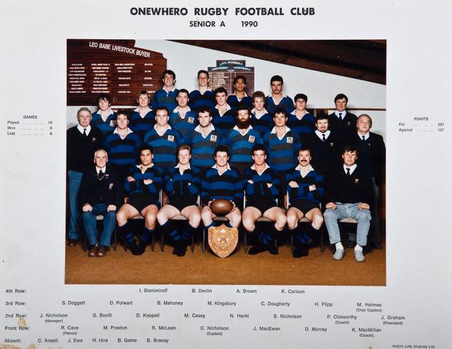 1990 ORFC Senior A