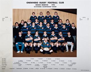 1992 ORFC Senior Reserves