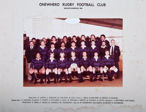 1984 ORFC Senior Reserve