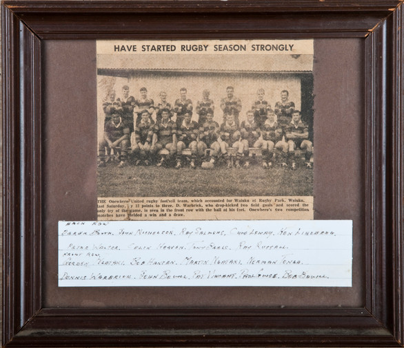 1960's ORFC Seniors Season Start