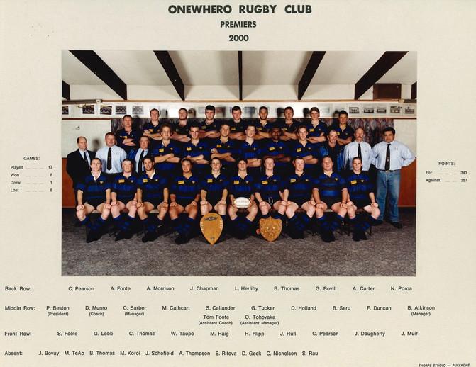 2000 ORFC Premiers