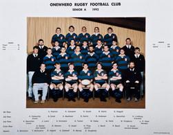 1992 ORFC Senior A