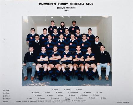 1993 ORFC Senior Reserves