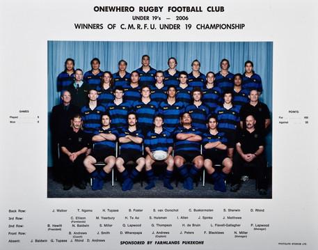 2006 ORFC U19