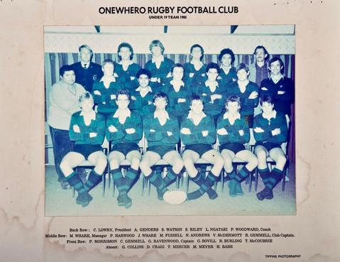 1985 ORFC U19