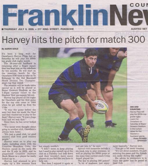 2009 ORFC Harvey 300 FCN 9 July